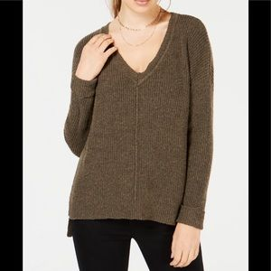 Hippie Rose Junior's Mossy Ribbed - Knit  top